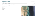 Open Divers: first screen